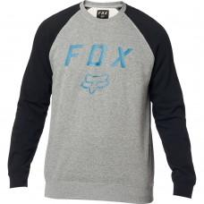 Кофта FOX LEGACY CREW FLEECE [BLACK GREY]
