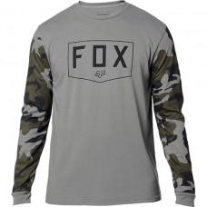 Футболка FOX SHIELD TECH TEE [GREY CAMO]