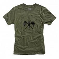 Футболка Ride 100% VALKYRIE Tee-shirt [Fatigue], L