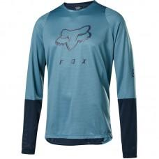 Вело джерси FOX DEFEND FOXHEAD JERSEY [LT BLUE]