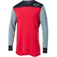 Вело джерси FOX DEFEND DELTA JERSEY [BRT RED]