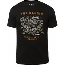 Футболка FOX FAST TRACK PREMIUM TEE [BLACK]