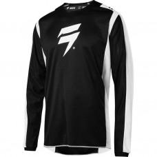 Мото джерси SHIFT WHIT3 LABEL RACE JERSEY 2 [BLACK/WHITE]