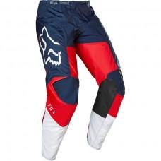 Мото штаны FOX 180 HONDA PANT [NAVY RED] р.32, 34, 36,38, 40