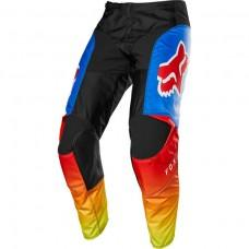 Мото штаны FOX 180 FYCE PANT [BLUE RED] р.32, 34, 36.