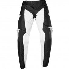 Детские мото штаны SHIFT YOUTH WHIT3 RACE PANT [BLACK WHITE] р. 24, 26, 28.