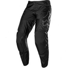 Мото штаны FOX 180 PRIX PANT - BLACK ONLY [BLK/BLK] р. 32, 34, 36, 38, 40, 42, 44