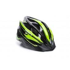 Велошлем ONRIDE Mount матовый чорный/зеленый L (58-61 см),  M (55-58 см)