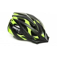 Велошлем ONRIDE Cross матовый  черный/зеленый L (57-61 см),   M (54-57 см)