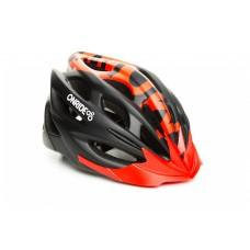 Велошлем ONRIDE Mount матовый чорный/красный L (58-61 см),  M (55-58 см)