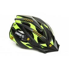 Велошлем ONRIDE Cross матовый черный/зеленый L (58-61 см), M (55-58 см)