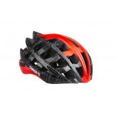 Велошлем ONRIDE Cat  серый/красный L (57-61 см),   M (54-57 см)