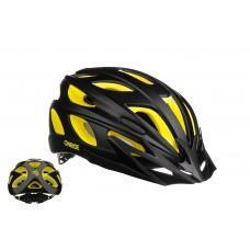 Велошлем ONRIDE Puls желтый/черный L (57-61 см)
