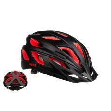 Велошлем ONRIDE Puls красный/черный L (57-61 см)