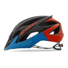 Вело шлем Giro Xar matte black/Glowing Red/blue, M