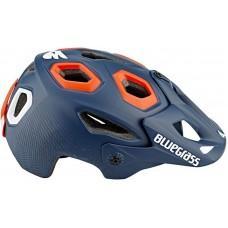 Шлем BLUEGRASS Golden Eyes petrol blue/orange 52-57 S