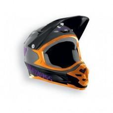Шлем BLUEGRASS INTOX XL grey / orange / purple 60-62
