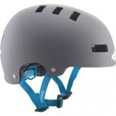 Шлем BLUEGRASS SUPERBOLD L MATT GRAY/CYAN