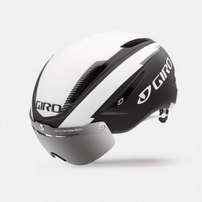 Шлем Giro Air Attack Shield матовый черный / белый