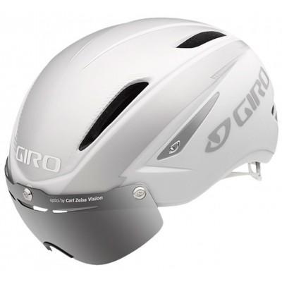 Шлем Giro Air Attack матовый белый / серебряный
