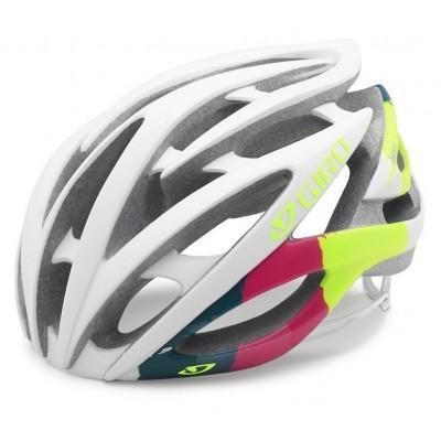 Шлем женский Giro Amare II матовый белый Brush Strokes