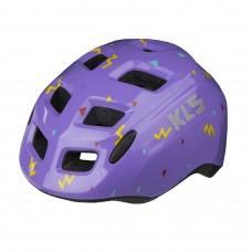 Шлем KLS ZIGZAG. детский. фиолетовый XS