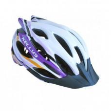 Шлем KLS Dynamic белый / фиолетовый M / L