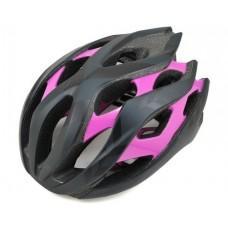 Шлем женский Liv Rev MIPS Signature матовый черный / глянцевый фиолетовый