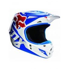 Мотошлем FOX V1 RACE HELMET [BLUE]