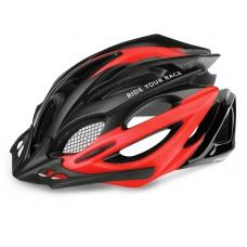 Шлем R2 Pro-Tec 2020 цвет черно-красный матовый р. L: 58-62 cm