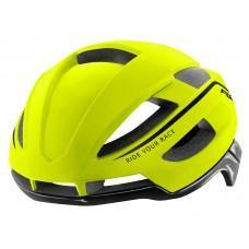 Шлем R2 Aero 2020 цвет неоновый желтый глянцевый г. M: 55-59 cm