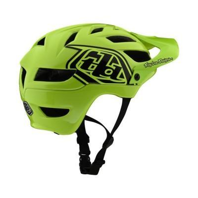 Вело шлем TLD A1 Helmet Drone [FLO Yellow/Black] размер YOUTH