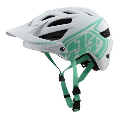Вело шлем TLD A1 Helmet Drone [White/Aqua] размер XS