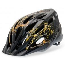 Вело шлем Giro Skyla  black/gold орнам., Uni