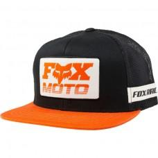 Кепка FOX CHARGER SNAPBACK HAT [BLACK ORANGE]
