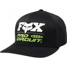 Кепка FOX PROCIRCUIT FLEXFIT HAT [BLACK]