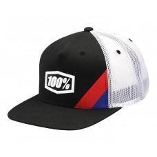 Кепка Ride 100% CORNERSTONE Trucker Hat [Black], One Size