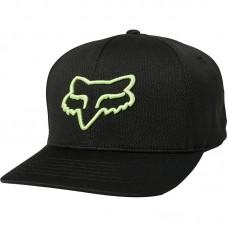 Кепка FOX LITHOTYPE FLEXFIT HAT [BLACK GREEN]