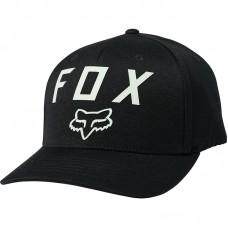 Кепка FOX NUMBER 2 FLEXFIT HAT [BLACK GREEN]