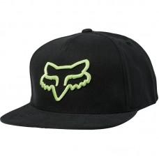 Кепка FOX INSTILL SNAPBACK HAT [BLACK GREEN]