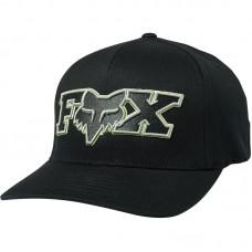 Кепка FOX ELLIPSOID FLEXFIT HAT [BLACK GREEN]