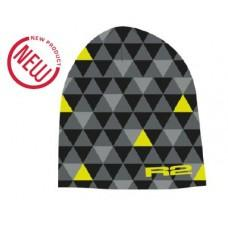 Спортивная шапка R2 Tria 2019 цвет черный. серый. желтый размер L