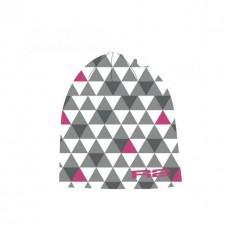 Спортивная шапка R2 Tria 2019 цвет серый. белый. розовый