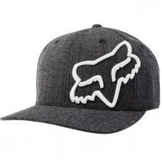 Кепка FOX LITHOTYPE FLEXFIT HAT [BLACK GREY]