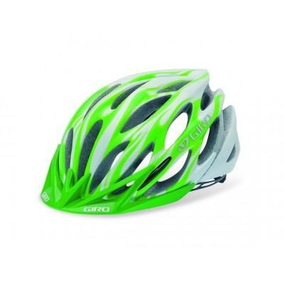 Шлем Giro Athlon белый / зеленое пламя