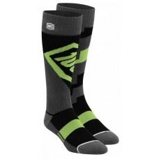 Мото носки Ride 100% TORQUE Comfort Moto Socks [Lime], S/M