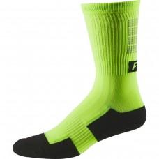 "Вело носки FOX 8"" TRAIL CSHN SOCK LUNAR [DAY GLO YLW] L/XL"