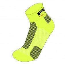 Носки R2 Easy 2020 цвет неоновый желтый размер S (35-38)