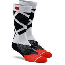 Носки для cпорта Ride 100% RIFT Athletic Socks Steel Grey