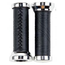 Грипсы FELT Cruiser grips Stitch Style black